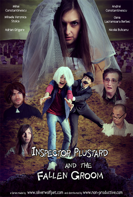 Inspector Plustard and the Fallen Groom - Poster - Pilot Episode - SilverWolfPet
