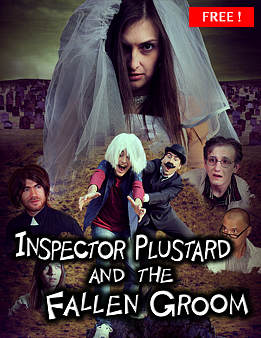 Inspector Plustard and the Fallen Groom Shop Product Site SilverWolfPet