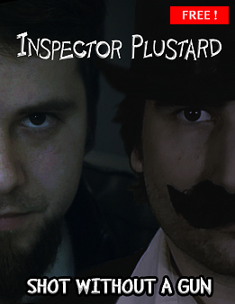 Inspector Plustard and Shot Without a Gun Shop Product Site SilverWolfPet