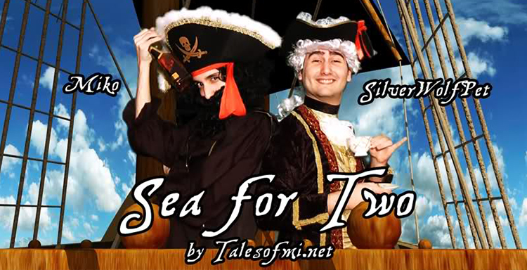 Sea For Two SilverWolfPet Talesofmi Telltale