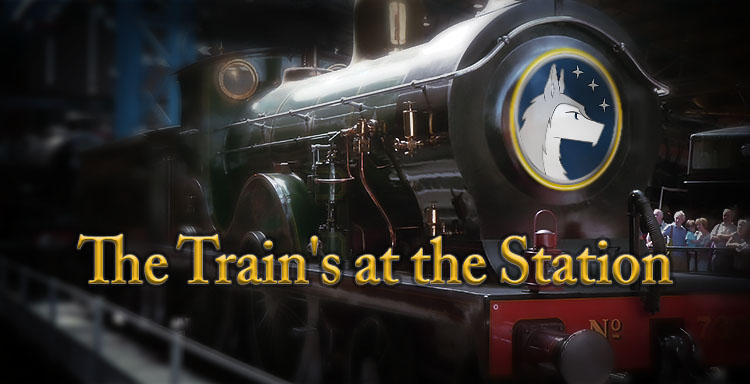 The Train's at the Station Silverwolfpet cover