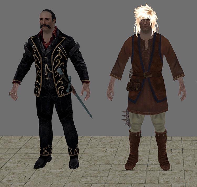 Plustard Johnny Elder Scrolls Skyrim SilverWolfPet